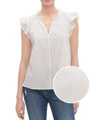 blusa sin mangas blanca blanco gap