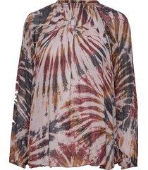 abstract blouse blouse lange mouwen multi/patroon rabens sal r