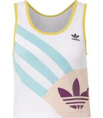 top adidas cropped tanktop