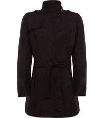 abrigo negro perramus vera