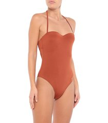 emporio armani one-piece swimsuits