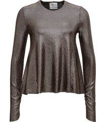 forte forte laminated sweater