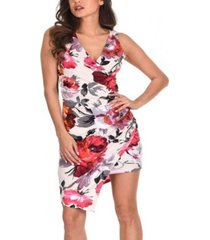 ax paris women's floral print midi dress