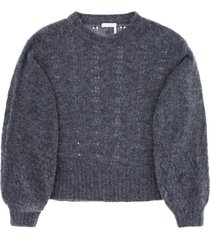 see by chloé patterned knit sweater