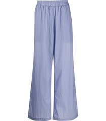 a.a. spectrum loose fit straight trousers - purple