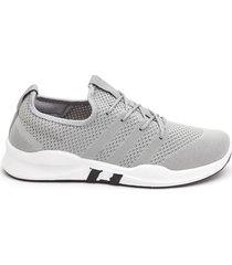 tenis sport hombre grises