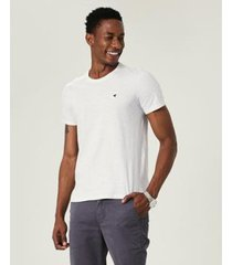camiseta slim botonê malwee masculina - masculino