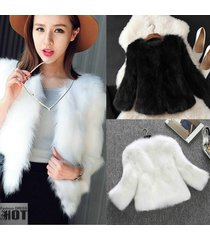 hodmexi new arrival winter warm fashion women import fur coat high grade faux fu