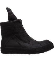 scarpe sneakers alte uomo in pelle geobasket