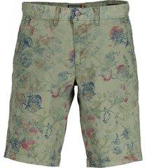 state of art shorts groen print