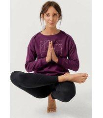 sweatshirt yoga crewneck br fl
