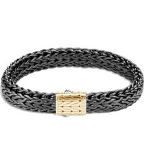 'classic chain' 18k gold silver rhodium medium bracelet