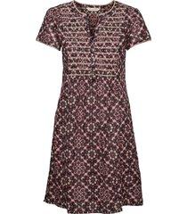 myrtle short dress kort klänning brun odd molly