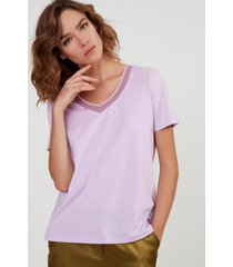 t-shirt scollo a v