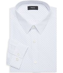 chevron-print dress shirt