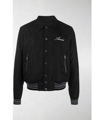 amiri bones bomber jacket