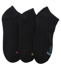 women's cbd treated half cushion solid low cut socks