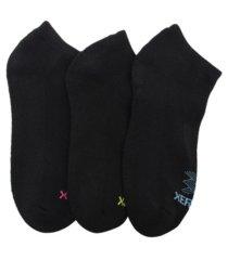 women's cbd treated half cushion solid low cut socks