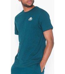 kappa t-shirt s/s auth wollie t-shirts & linnen blå