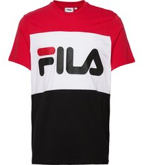 day tee t-shirts short-sleeved svart fila