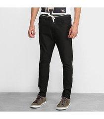 calça acostamento sarja masculina
