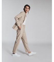 reiss emily - slim fit tailored pants in, womens, size 14