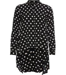 camicia asimmetrica (nero) - bodyflirt