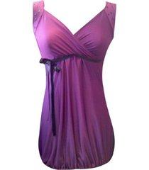 mini-vestido con recogido sarab -uva