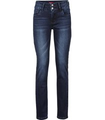 jeans elasticizzati modellanti slim (blu) - john baner jeanswear