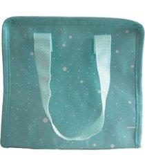 bolsa sacola térmica com alça lancheira