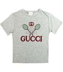 gucci grey cotton jersey t-shirt