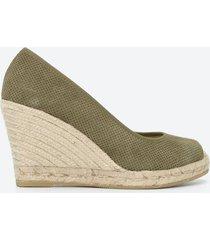 zapato casual mujer freeport z0rm verde