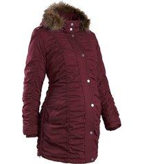 giacca prémaman regolabile con cappuccio (rosso) - bpc bonprix collection