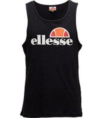 el frattini t-shirts sleeveless svart ellesse