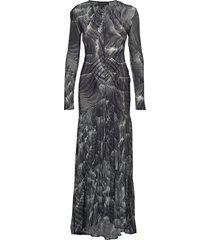 level bias dress maxiklänning festklänning grå diana orving