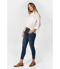 jeans fit slim denim desgastes