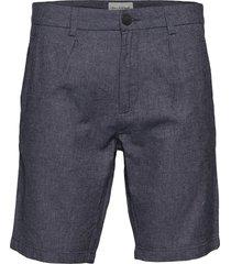 bs boulders tailored shorts chinos shorts blå bruun & stengade