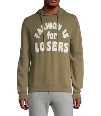 eleven paris men's fashion is for losers hoodie - soldier - size s