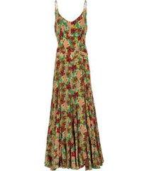 vestido kika simonsen longo feminino