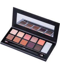 paleta de sombra klasme - eyeshadow palette warm day
