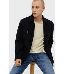 only & sons onscalvin workwear jacket otw jackor mörk blå