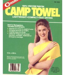 toalha super absorvente coghlans