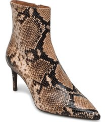 booties shoes boots ankle boots ankle boot - heel brun billi bi