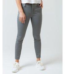 pantalón skinny cuadros.