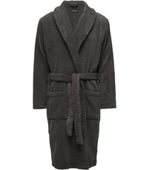 icon bathrobe morgonrock badrock grå tommy hilfiger