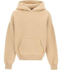 fear of god hooded wool sweater