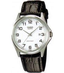 reloj casio analogo mtp-1183e-7b caballero negro