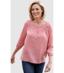 blouse dress in roze