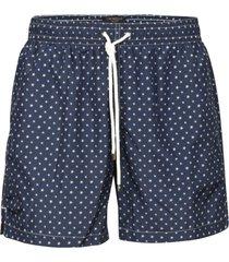 eddy monetti star motif print drawstring shorts