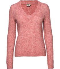 emma sweater gebreide trui roze twist & tango